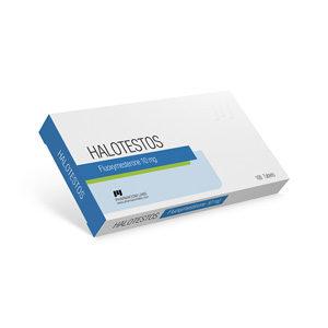 Halotestos 10 - ostaa Fluoksi-metresteroni (Halotestin) verkkokaupassa | Hinta