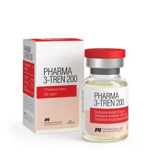 Pharma 3 Tren 200 - ostaa Trenbolonisekoitus (Tri Tren) verkkokaupassa | Hinta