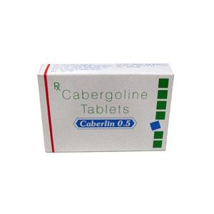 Caberlin 0.5 - ostaa Cabergoline (Cabaser) verkkokaupassa | Hinta