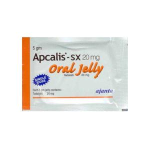 Apcalis SX Oral Jelly - ostaa Tadalafil verkkokaupassa | Hinta