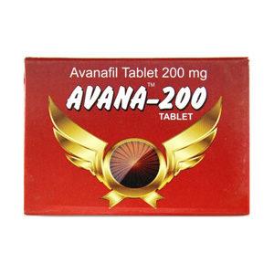 Avana 200 - ostaa Avanafil verkkokaupassa | Hinta