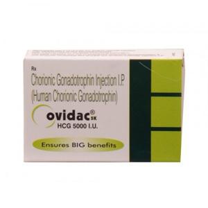 Ovidac 5000 IU - ostaa HCG verkkokaupassa | Hinta
