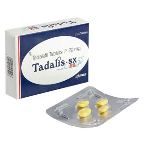 Tadalis SX 20 - ostaa Tadalafil verkkokaupassa | Hinta