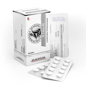 Magnum Clen-40 - ostaa Klenbuterolihydrokloridi (Clen) verkkokaupassa | Hinta
