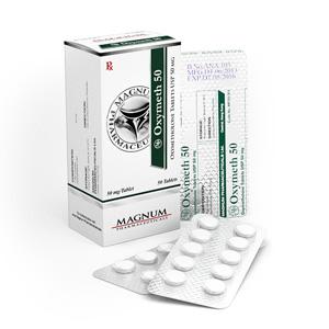 Magnum Oxymeth 50 - ostaa Oksymetolon (Anadrol) verkkokaupassa | Hinta
