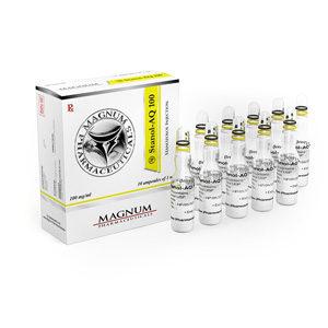 Magnum Stanol-AQ 100 - ostaa Stanozolol-injeksjon (Winstrol-depot) verkkokaupassa | Hinta