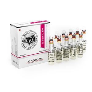 Magnum Test-C 300 - ostaa Testosteronipionaatti verkkokaupassa | Hinta