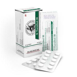Magnum Turnibol 10 - ostaa Turinabol (4-klooridehydrometyylitosterosteroni) verkkokaupassa | Hinta