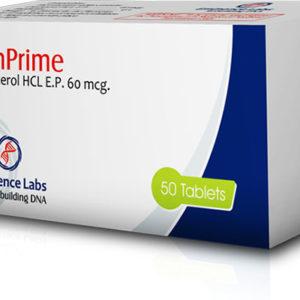 Klenprime 60 - ostaa Klenbuterolihydrokloridi (Clen) verkkokaupassa | Hinta