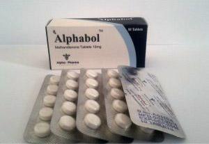 Alphabol - ostaa Metandienon suun kautta (Dianabol) verkkokaupassa | Hinta
