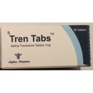 Tren Tabs - ostaa Metyylitrienoloni (metyylitrenboloni) verkkokaupassa | Hinta