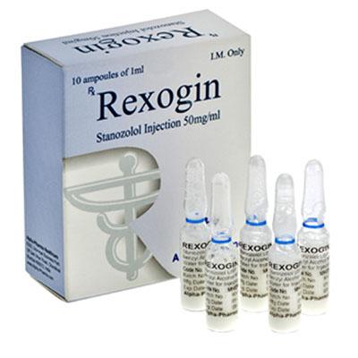 Rexogin - ostaa Stanozolol-injeksjon (Winstrol-depot) verkkokaupassa   Hinta