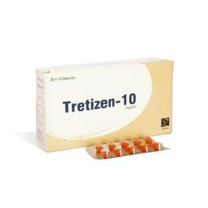 Tretizen 10 - ostaa Isotretinoiini (Accutane) verkkokaupassa | Hinta